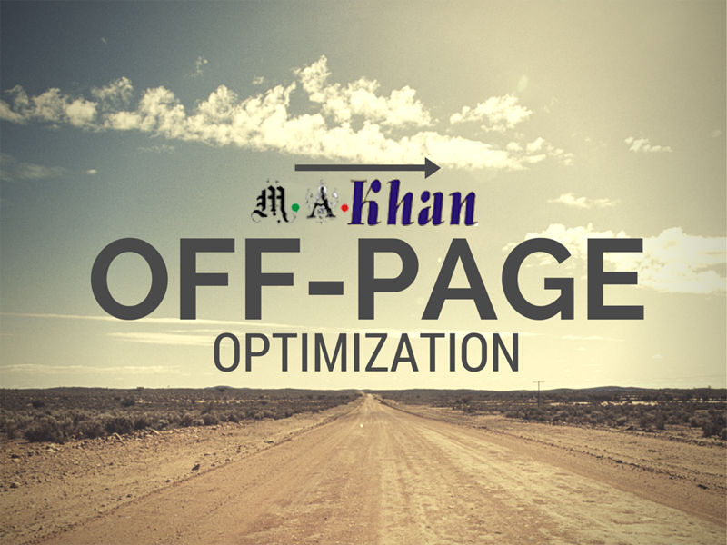 """Don't forget """"off-page"""" optimization"""