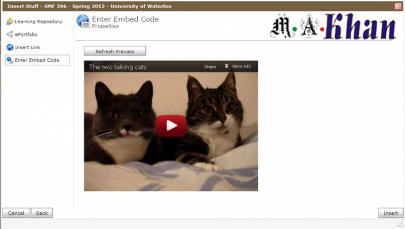 Embedded Videos on websites- Video Marketing