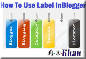 Use Post Labels, Tags, and Categories