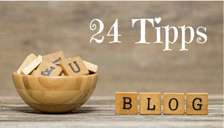My 24 best blog tips and tricks for beginners