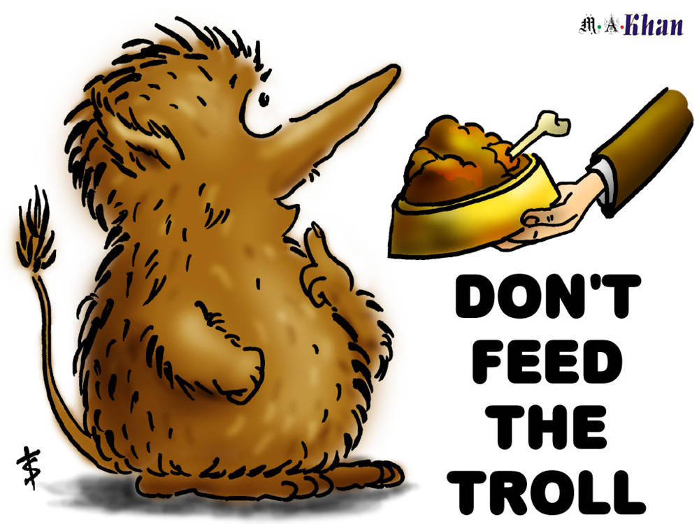 Blogging Tip 12- Don't Feed the Trolls