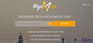 Content and Keyword Analysis Tools-keys4up