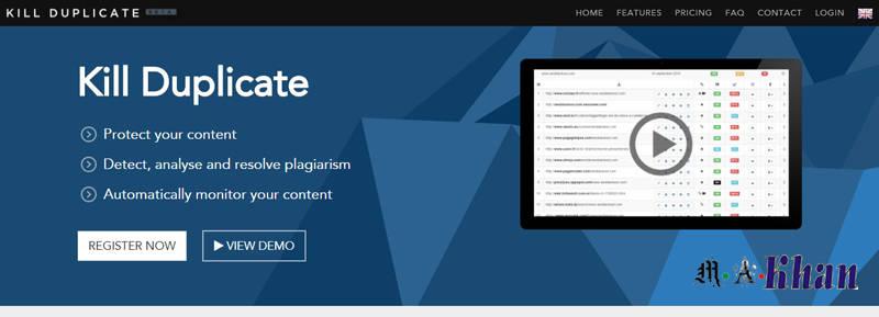 Content and Keyword Analysis Tools-killduplicate