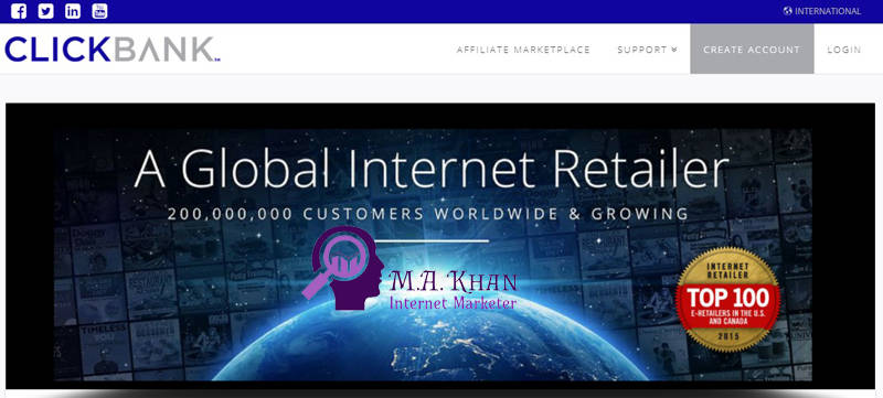 Affiliate Marketing Websites-ClickBank
