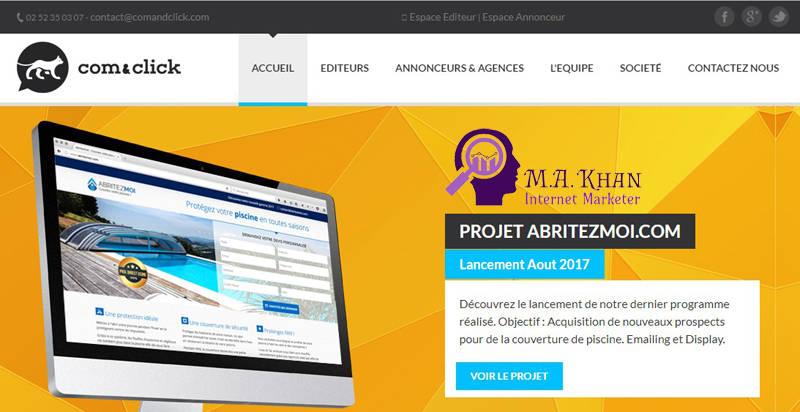 Affiliate Marketing Websites-Com & Click