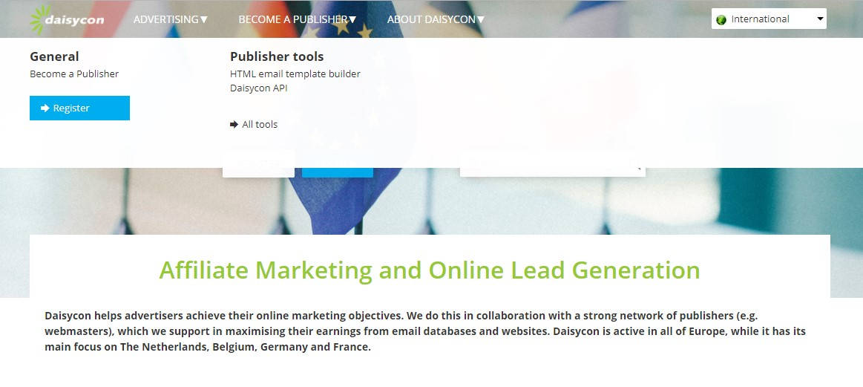 Affiliate Marketing Websites-Daisycon
