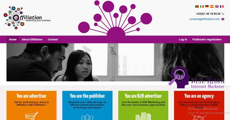 Affiliate Marketing Websites-Effiliation