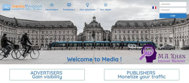 Affiliate Marketing Websites-Mediaffiliation