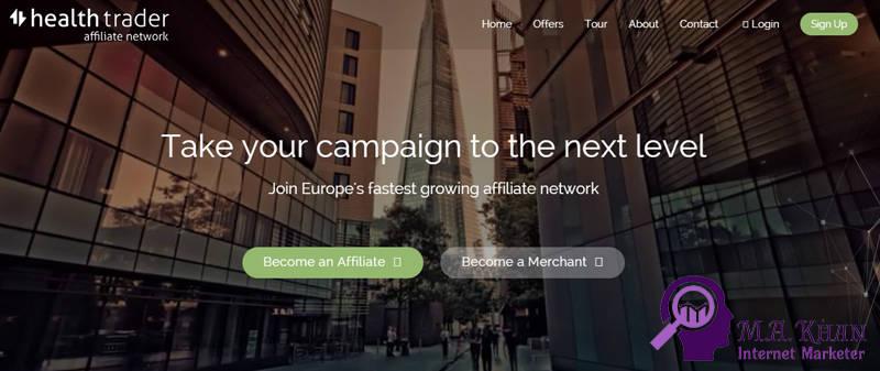 Affiliate Marketing Websites-healthtrader